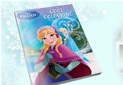 FREE Frozen Colouring Book