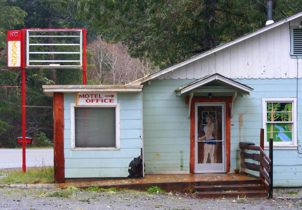 Image detail for -an abandoned biker motel in the coastal redwood rain forest gasquet ...