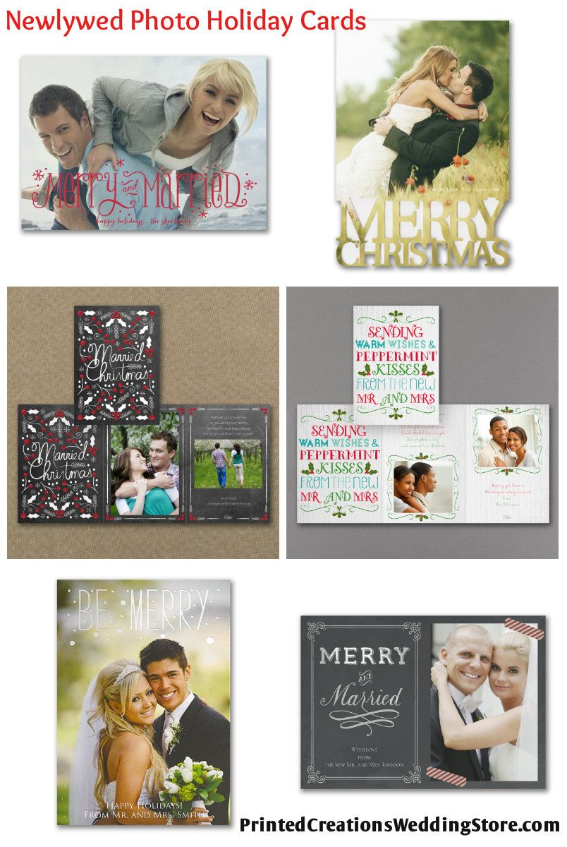 Celebrate your 1st Christmas as a newly married couple by sending ...