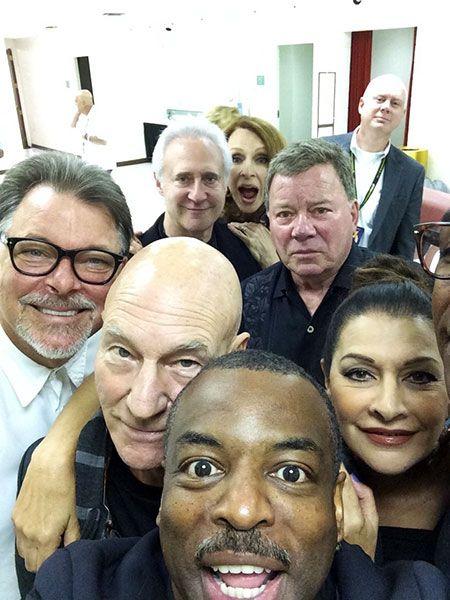 Star Trek Selfie #fictionalcharacters