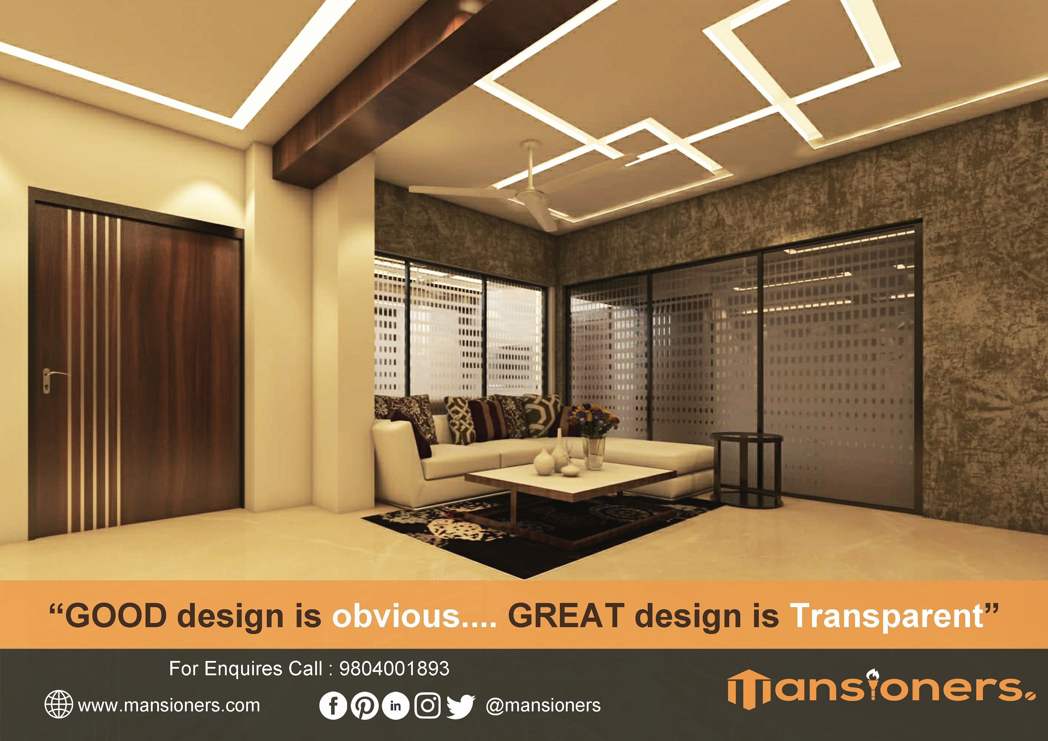 Good Design Is Obvious Great Design Is Transparent Contact Us