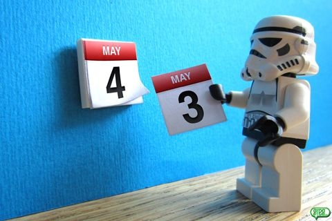 May The 4th Be With You Lego