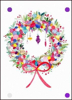 Photo of Christmas Wreath Christmas Greetings Christmas Card E-Card WhatsApp Facebook Online …