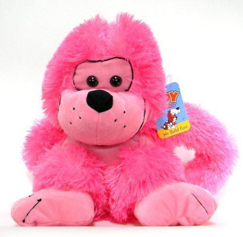 Pink Plush Monkey with Velcro Hands Loop to Hang by Toy Factory, http://www.amazon.com/dp/B00E41YXR2/ref=cm_sw_r_pi_dp_04Kosb1KD0X4B