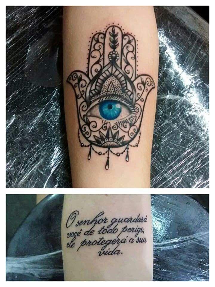Tatuaje Tatuaje De Mano Hamsa Tatuaje De Mano De Fatima
