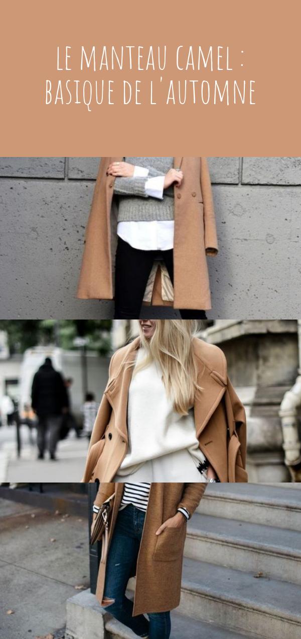 Le manteau camel : le basique indispensable pour des looks d