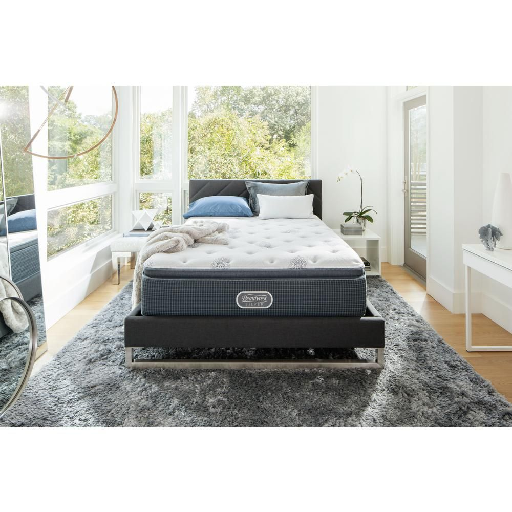 port royal point california king plush low profile mattress set