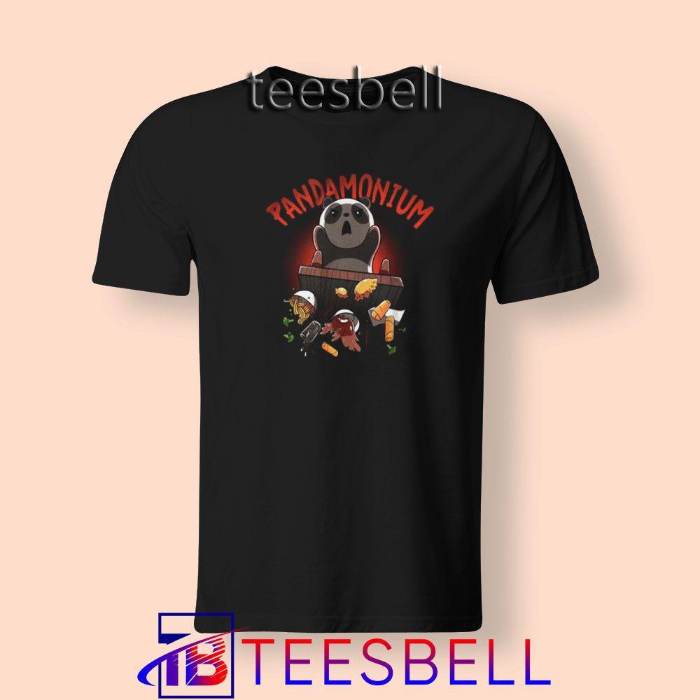 Funny Pandamonium T Shirt S 3xl Tees Bell Cute Shirts For Teens Shirts For Teens T Shirts S Cute Shirts