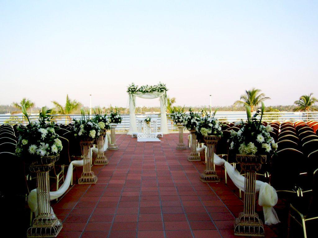 Outside Altar #kovensbythebay | Miami beach wedding venue ...