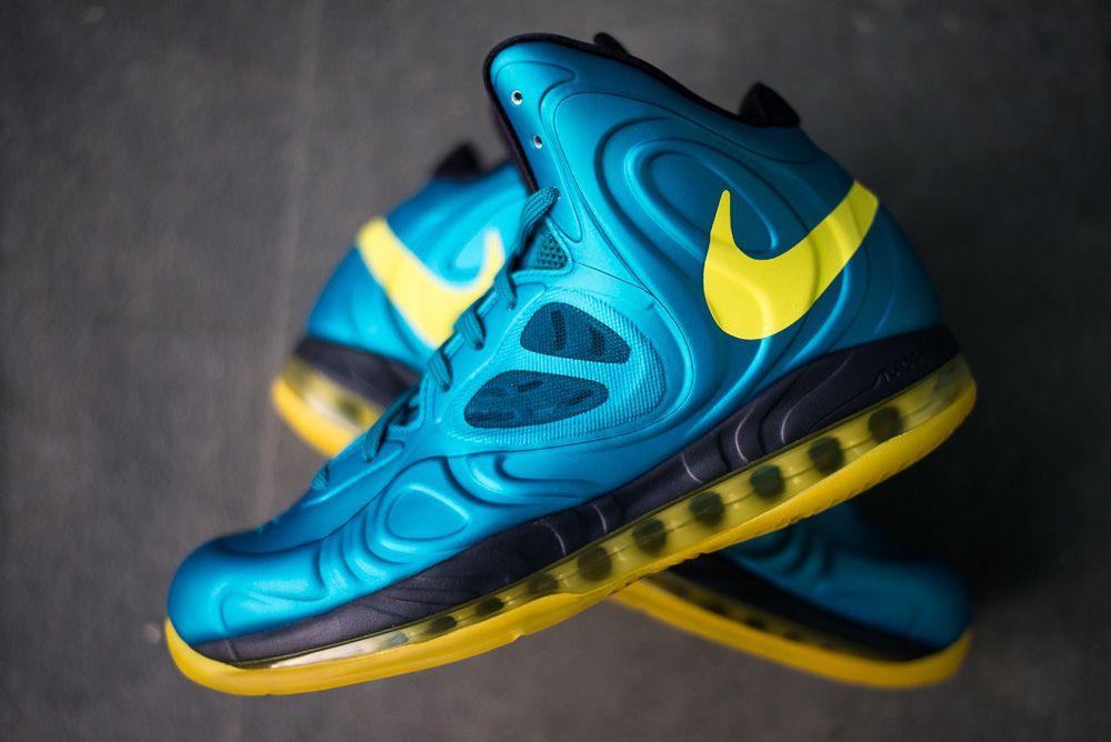 Nike Air Max Hyperposite - Tropical Teal / Sonic Yellow - Blueprint   KicksOnFire.com