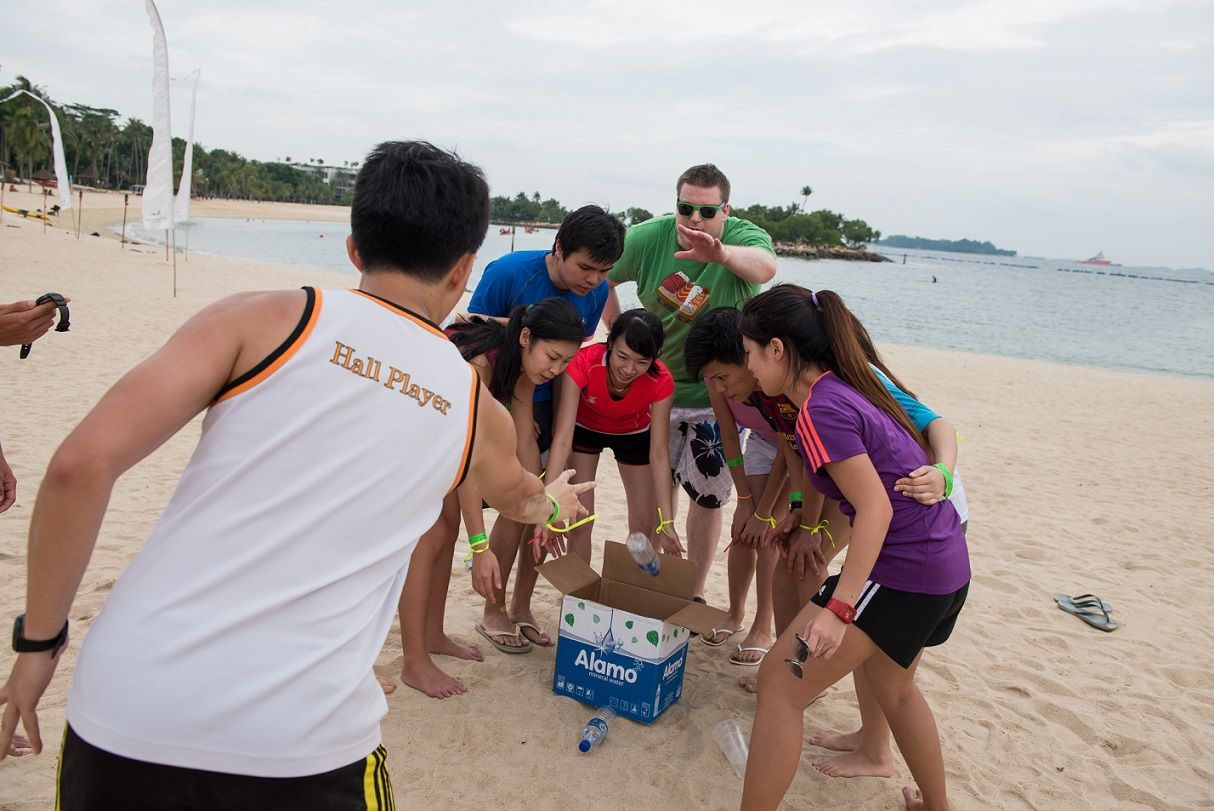 Dbi Specialize In Best Outdoor Corporate Team Building Games In Singapore We Offer A Wide Variet Outdoor Team Building Games Team Building Games Team Building