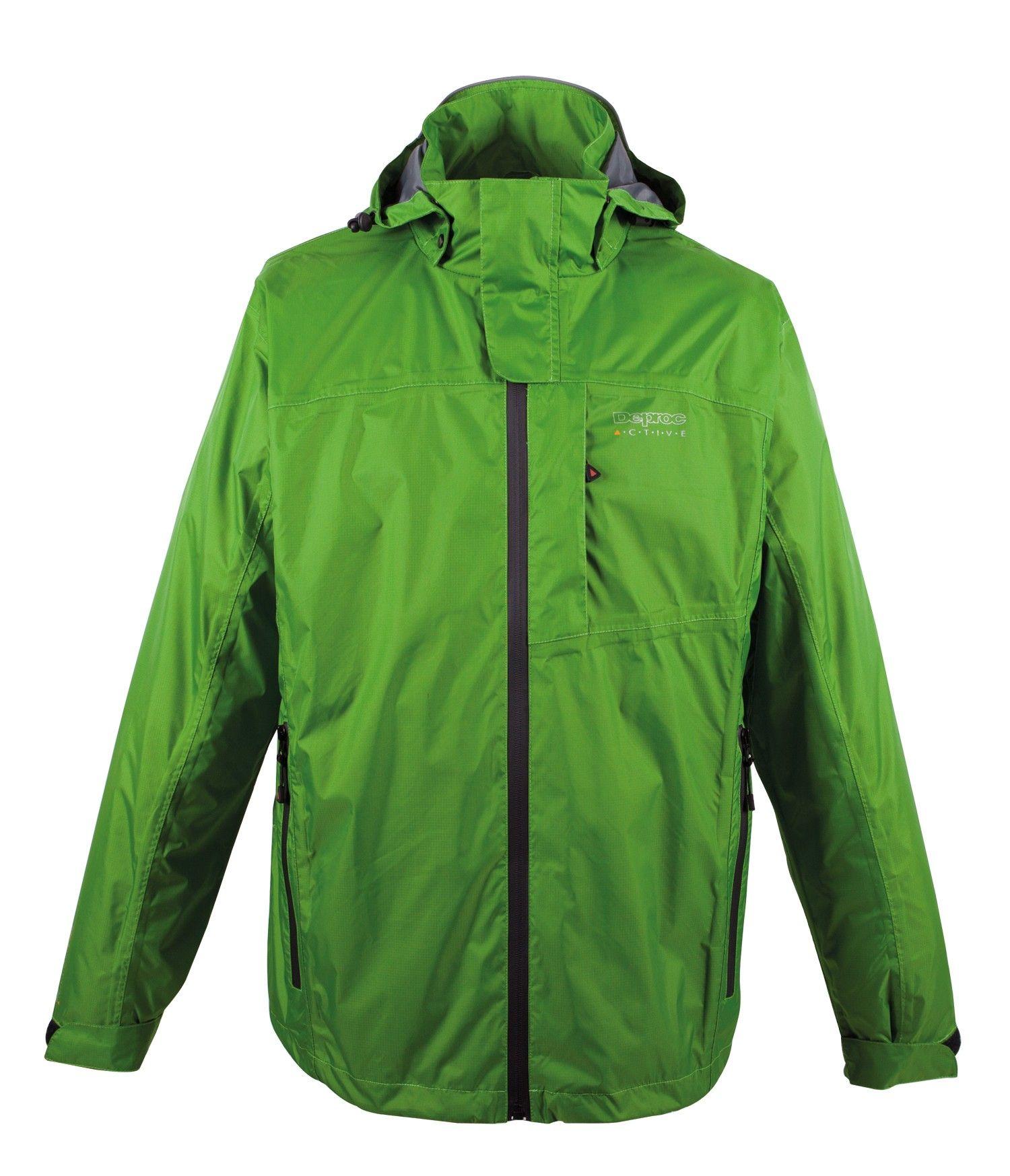 Hochwertige einfarbige Regenjacke mit vielen durchdachten Details für jesdes Wetter. Price 79,95€