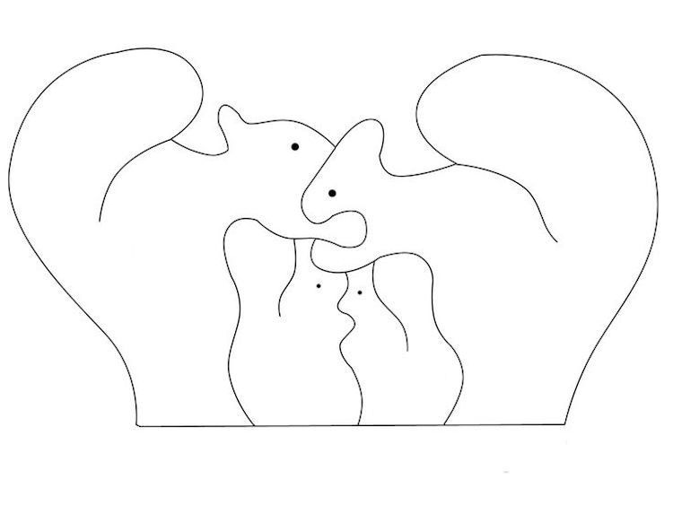 Bildergebnis Fur Dekupiersage Vorlagen 3d Dekupiersage Vorlagen Tier Puzzle Vorlagen