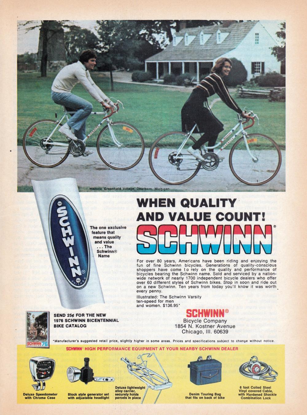 1976 Schwinn Varsity Sport Men S Woman S Quality Etsy In 2020 Schwinn Cafe Racer Build Brat Bike