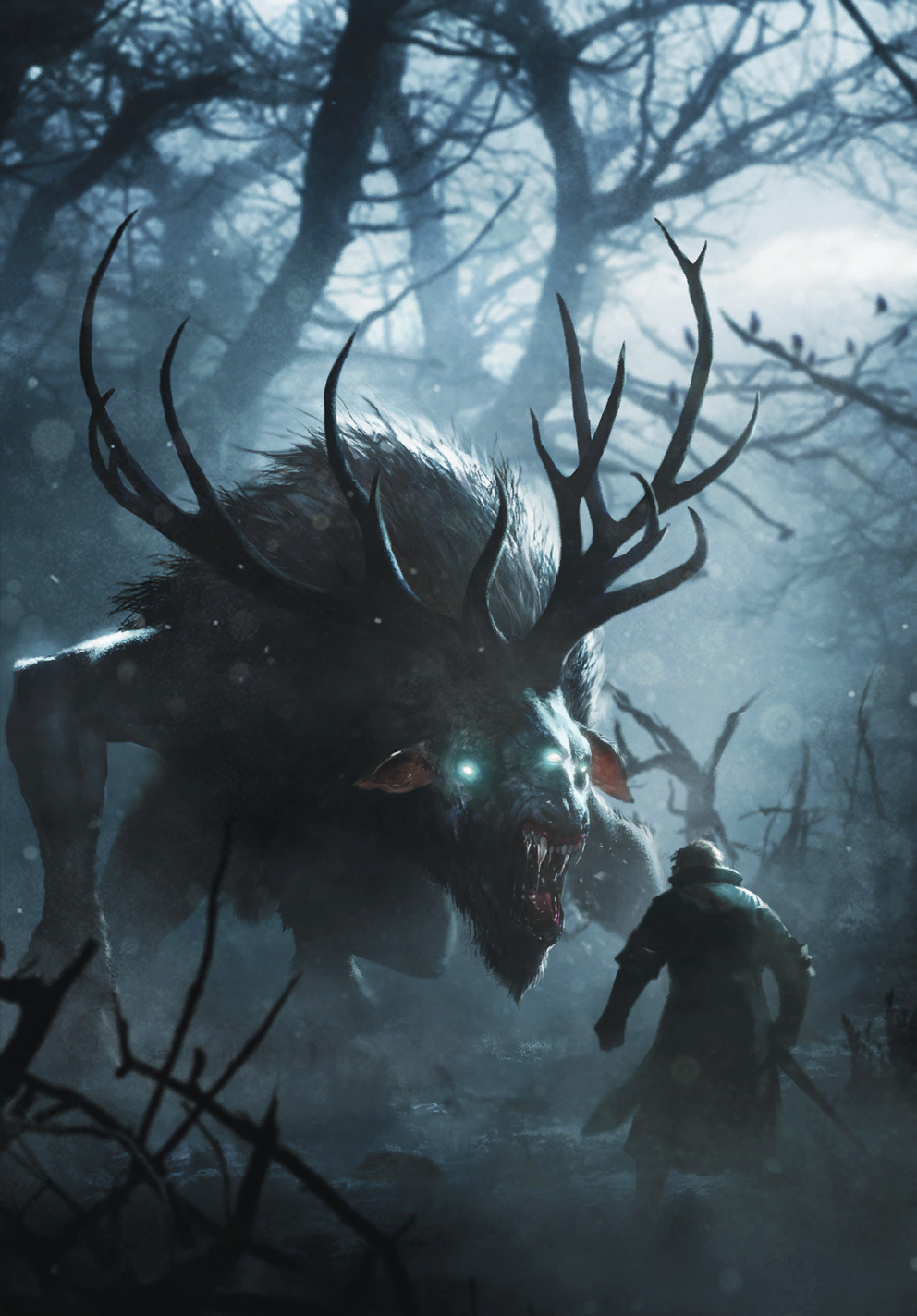4k Gwent Card Art Fantasy Monster Fantasy Beasts Fantasy Creatures