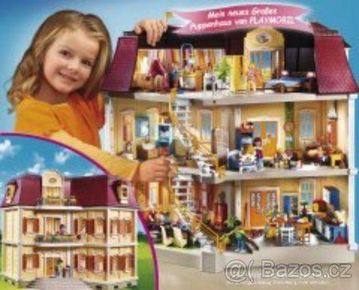 PLAYMOBIL 5302 Velký dům pro panenky 1