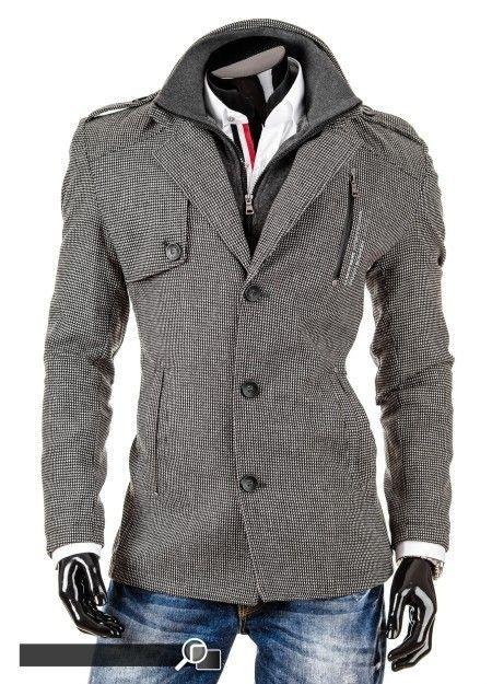 Blazer mantel schwarz herren