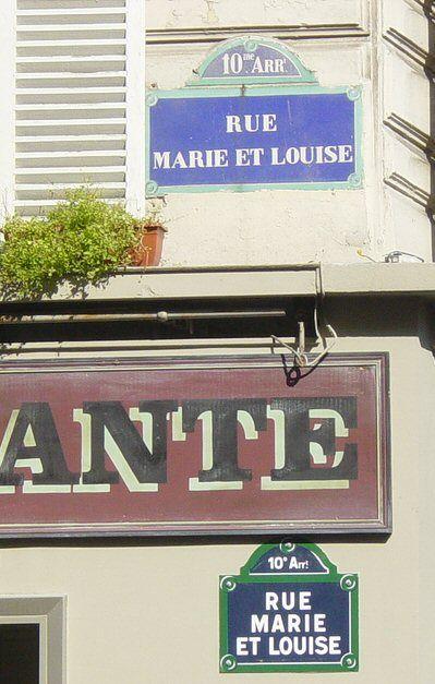 La rue Marie-et-Louise (Paris 10ème)