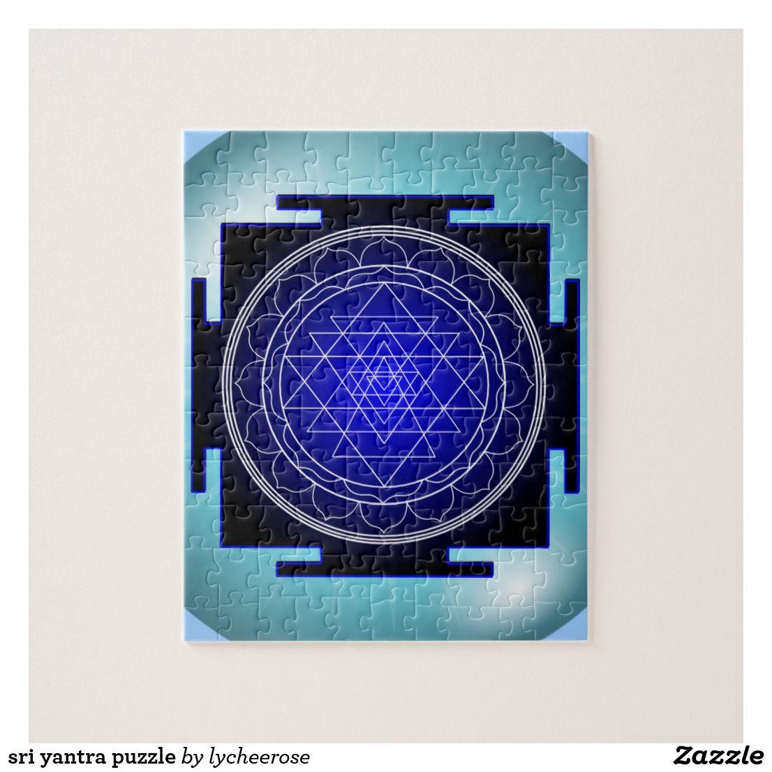 sri yantra puzzle Sri yantra, Puzzle, Zazzle