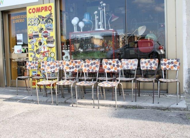 Sedie Formica ~ Sedie in formica anni s stock of chairs mid century vintage