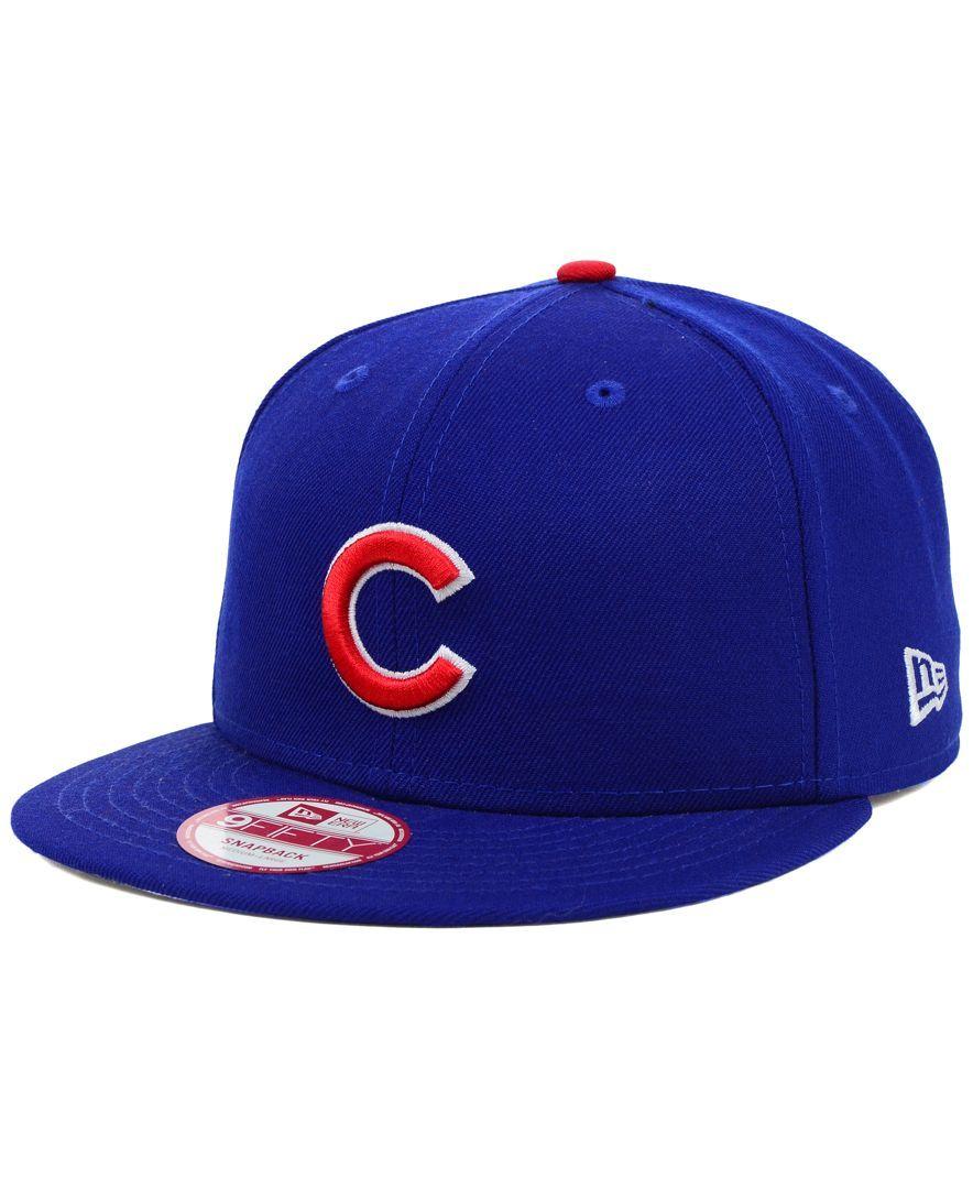 85b93559b31 New Era Chicago Cubs Mlb 2 Tone Link 9FIFTY Snapback Cap
