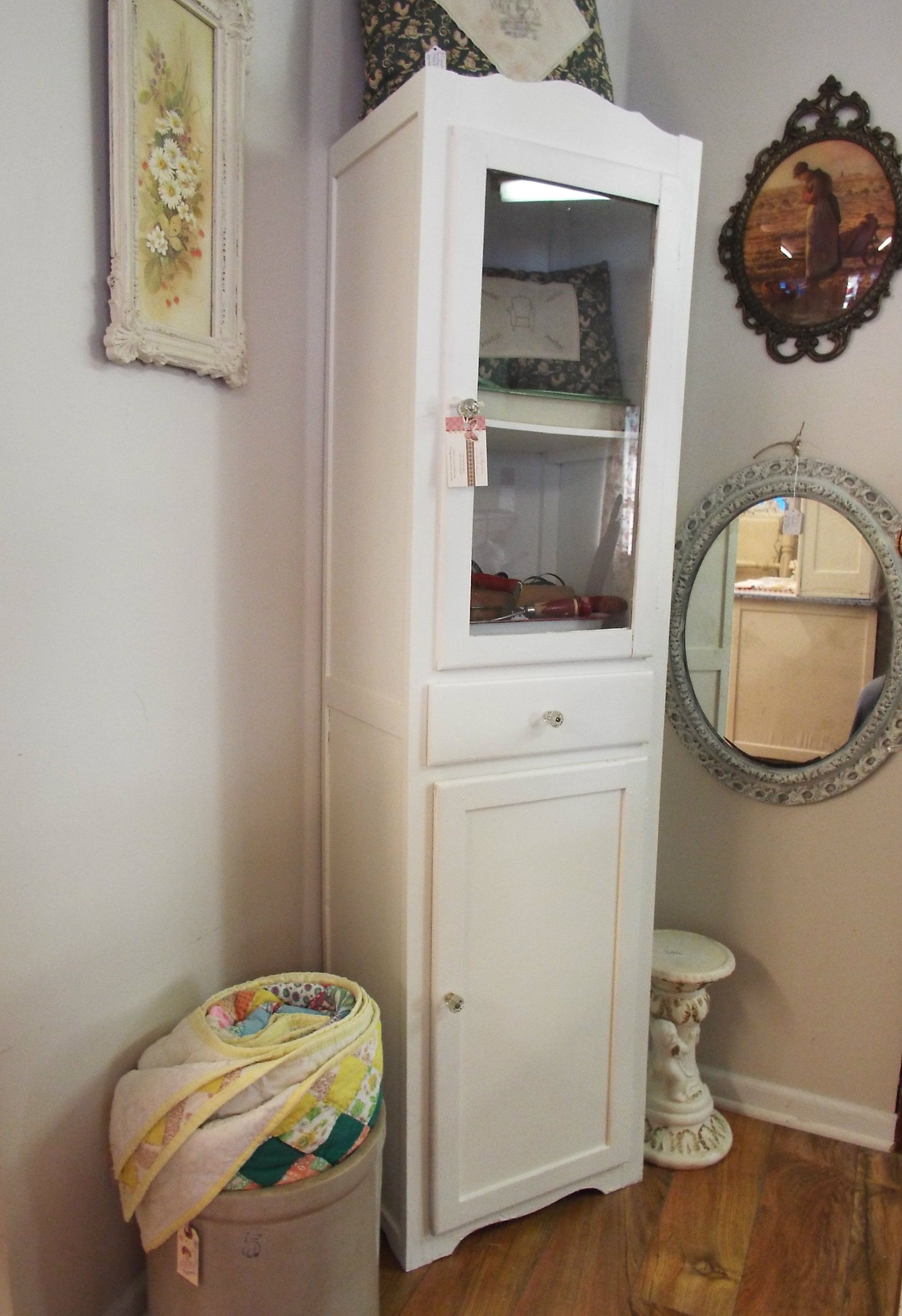 I Refurbished This Vintage Chimney Cupboard Soaked Years Of Paint