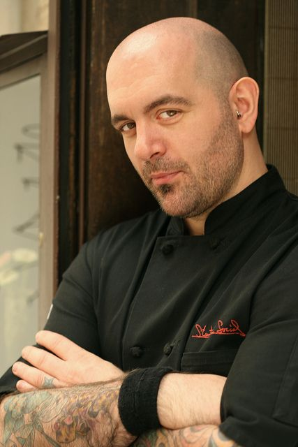 chef chris santos is an asshole