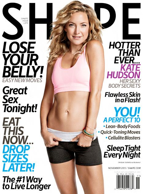 944d2d8c40 Kate Hudson covers the November issue of Shape magazine stating that  Pilates has put her in