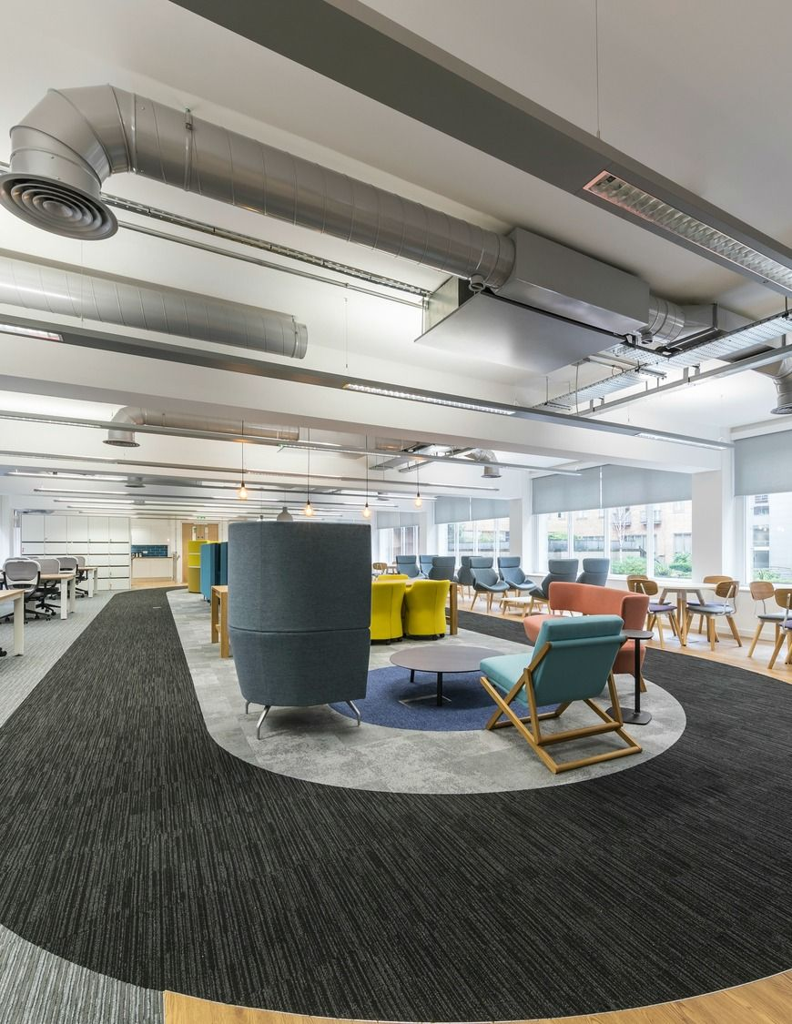 Office Design For Manchester Growth Company In 2019 Office Interior Design Work Office Design Innovative Office