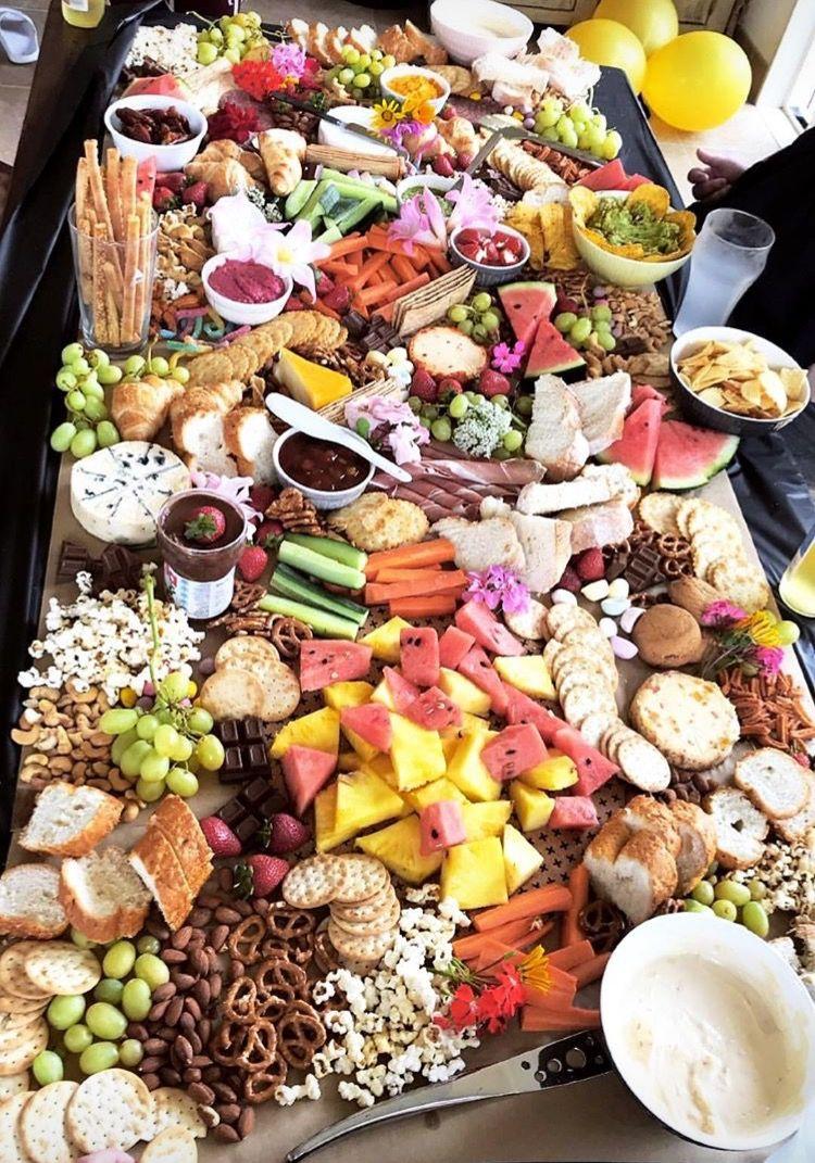 Food Layout Food Platters Food Best Party Food