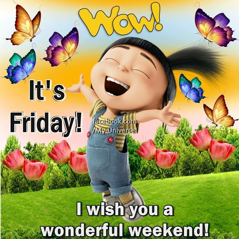 Wow Its Friday Quotes Morning Quotes Good Morning Friday Friday