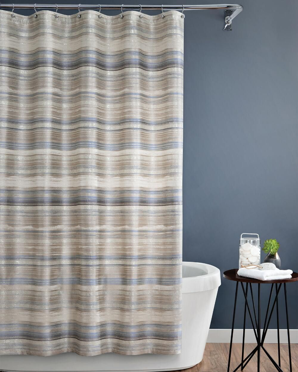 Croscill Darian Shower Curtain Shwr Curtain Polyester Fabric