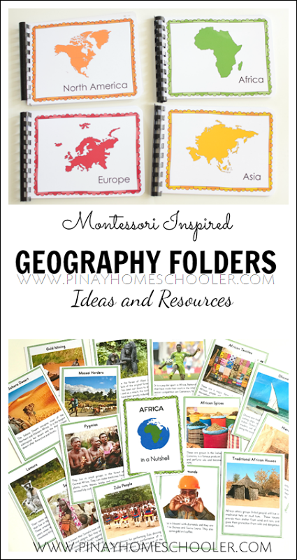 Photo of Montessori Geography Folders