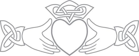 Irish Claddagh Symbol Claddagh Symbol Pre Cut Patterns Stained
