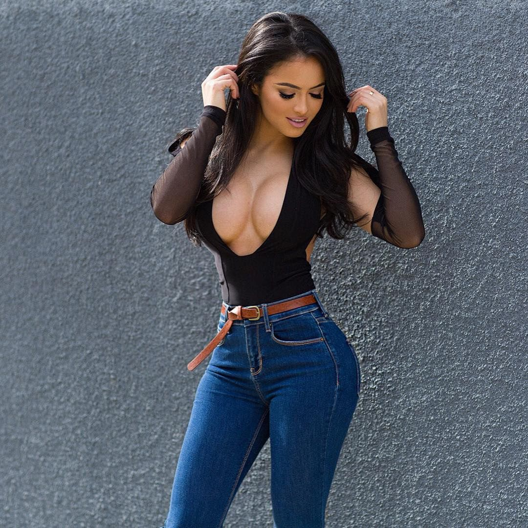 Franciele Medeiros  Fashion  Sexy Jeans, Sexy, Beautiful Women-6170