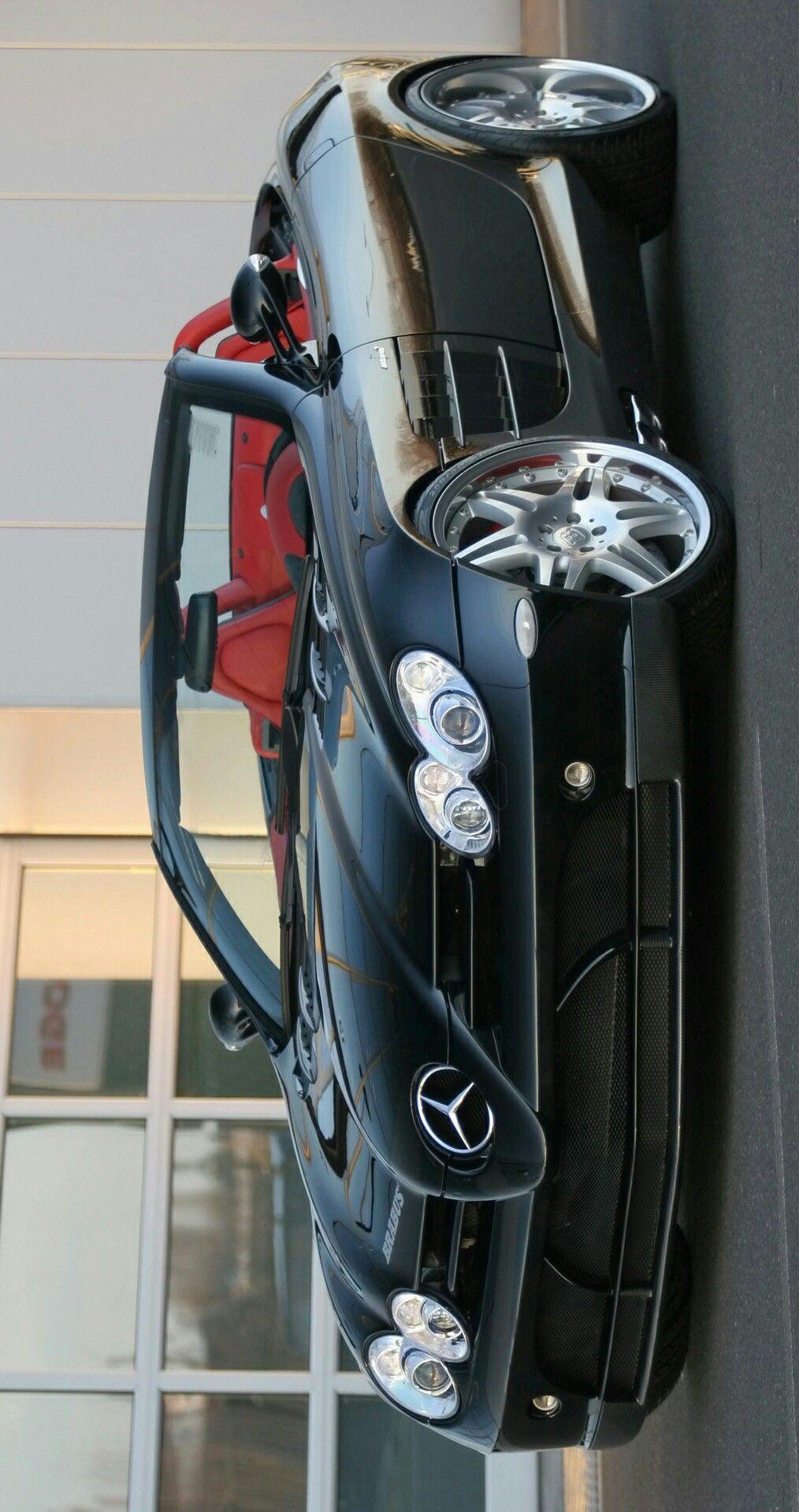 2008 Brabus Mercedes Benz McLaren SLR Roadster