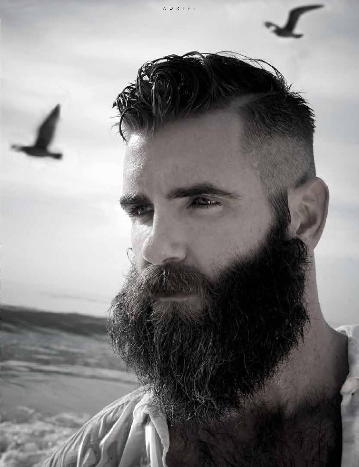 Clean men's haircut marapr  beauty u groom issue no xxxvi  awesome beards hipster