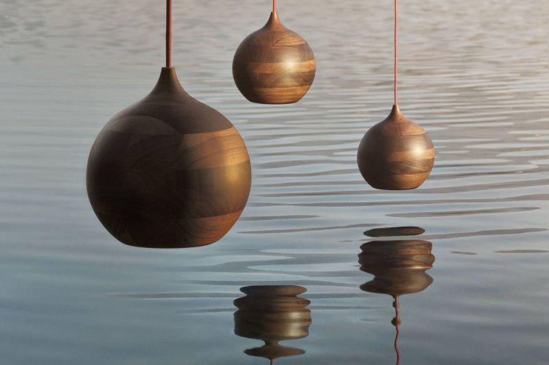 Ribolla. Wood lamp. SCL design