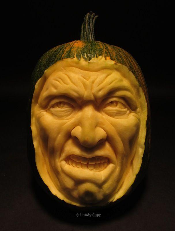 Happy Halloween Realistic Pumpkins Pumpkin Carver Pumpkin Carving