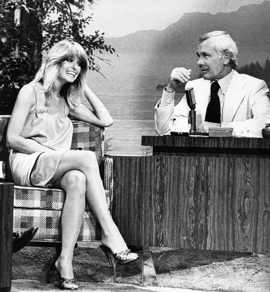 Farrah fawcett tonight show johnny carson 8x10 photo #d7031 ...