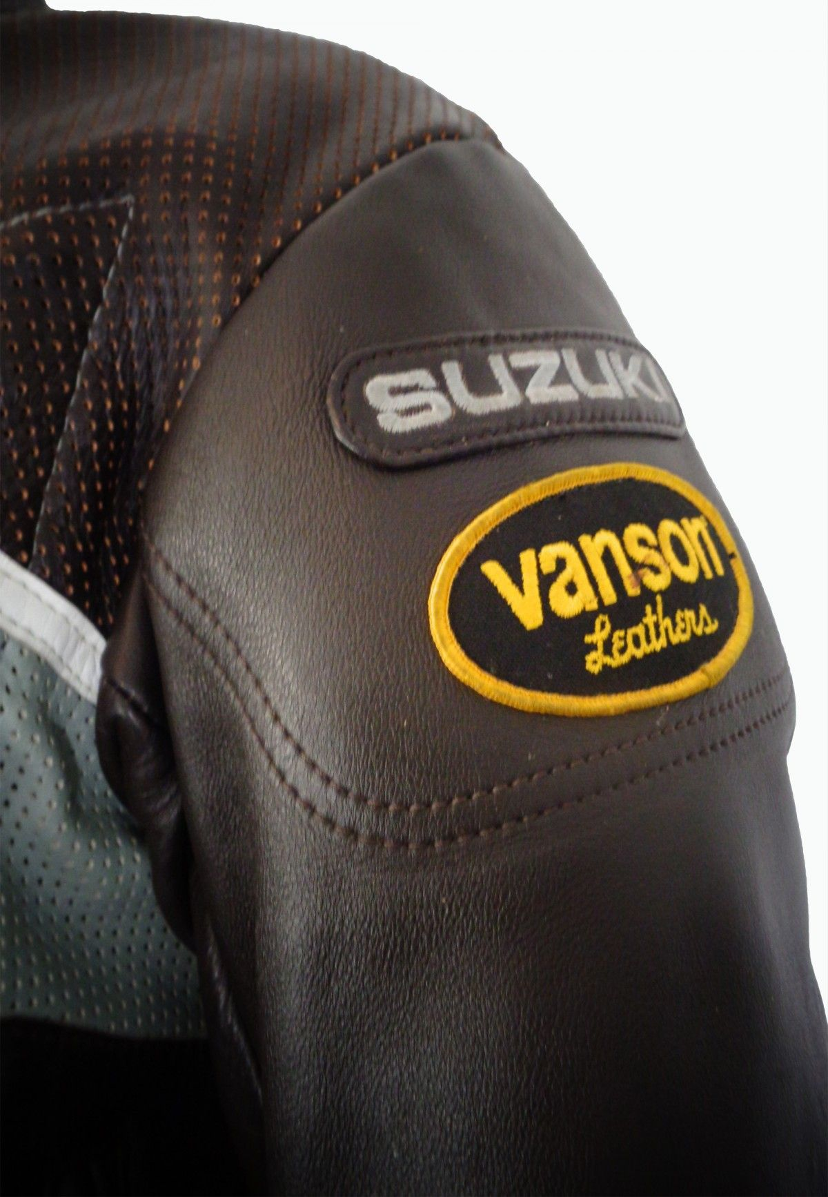 Vanson leather motorcycle gloves - Vanson Black Red Yellow Leather Motorcycle Jacket Men S Size 42 309 99 At Eagle Ages We