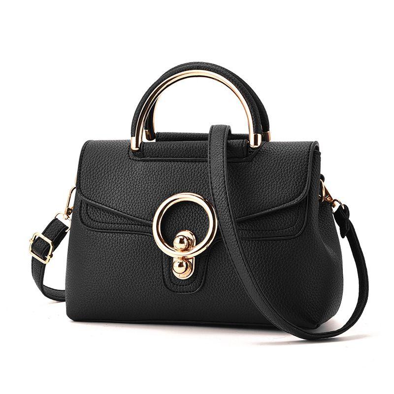 Cheap bolsa feminina, Buy Quality shoulder bags directly from China women  handbags Suppliers  Hot Women s Handbag 2017 Polyester Lock New Women Pu  Leather ... a6ef89db22