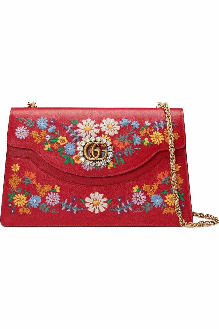 16917286fb5 Free shipping and returns on Gucci Small Linea Dragon Chain Shoulder Bag at  Nordstrom.com