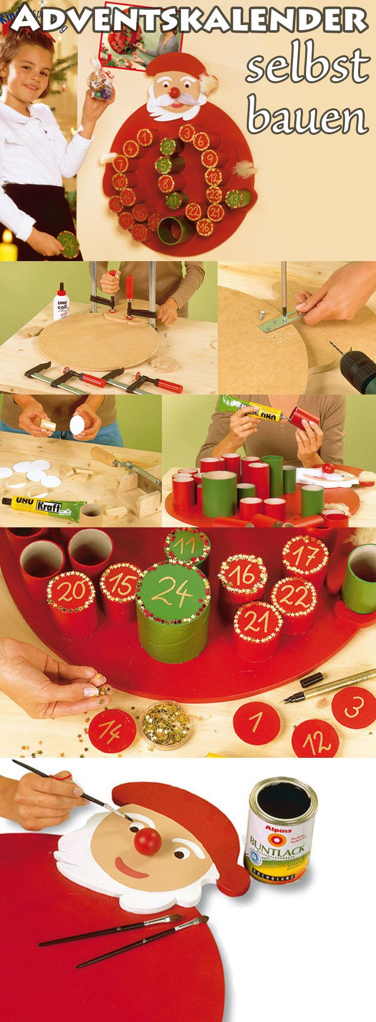 adventskalender basteln weihnachten pinterest adventskalender adventskalender basteln und. Black Bedroom Furniture Sets. Home Design Ideas