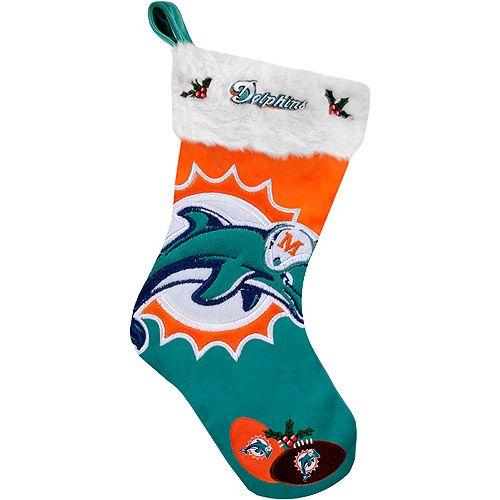 Miami Dolphins Christmas Stocking