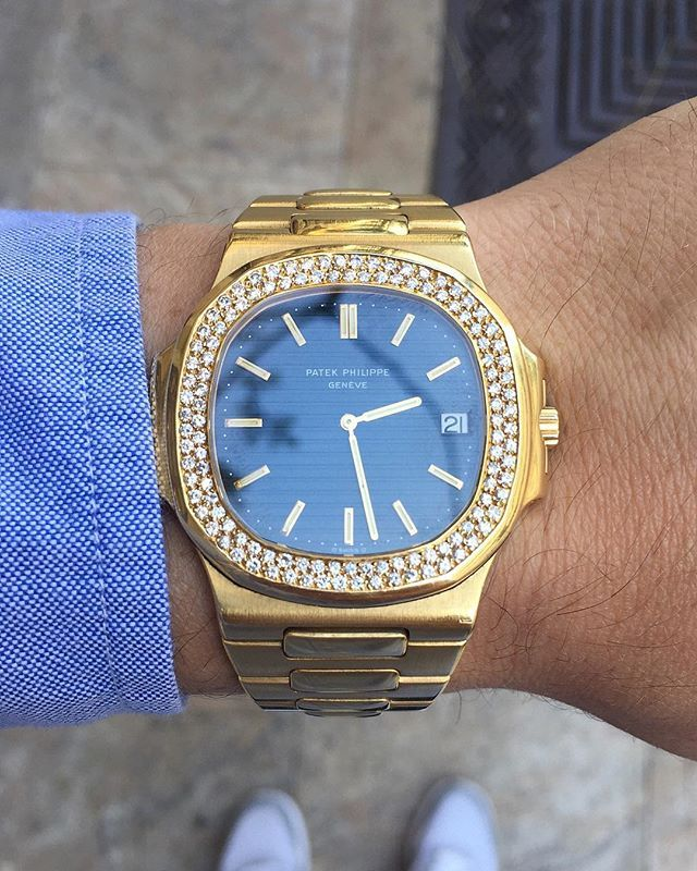 Repost Our Very Rare Patek Philippe Nautilus Ref 3700 3 With An
