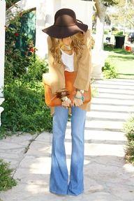 clutch+ floppy hat...lovely