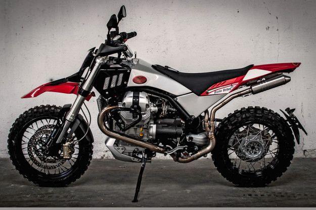 Custom Moto Guzzi by Bruno Birbes