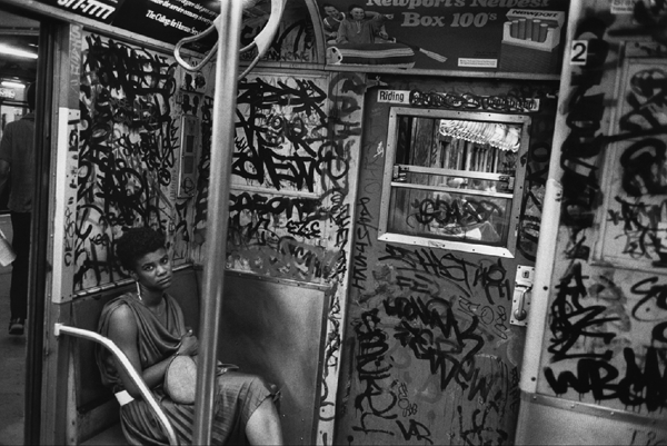 FRIDAY SPOTLIGHT: RICHARD SANDLER's NEW YORK SUBWAY PHOTOGRAPHY from the '80s
