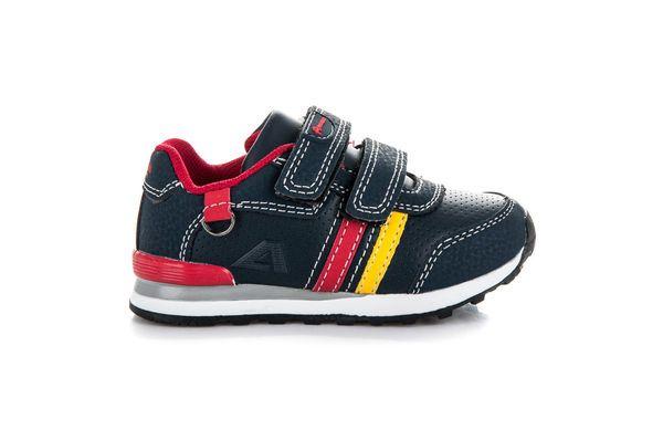 Buty Sportowe Dzieciece Dla Dzieci Americanclub Niebieskie Granatowe Buciki Sportowe American Club Shoes Sneakers Fashion